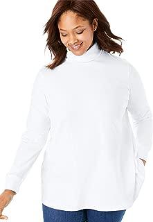 Women's Plus Size Perfect Long Sleeve Turtleneck