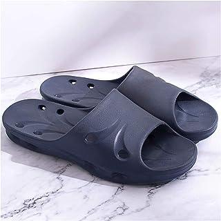 YAOLUU Summer Slippers Baño Ducha con Fugas Silent Masculino Verano Indoor Daño rápido Sandalias Huecas y Zapatillas Flat ...