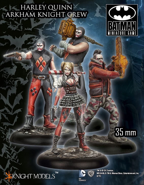 hasta un 50% de descuento Batman Batman Batman Miniature Juego  Harley Quinn Arkham Knight Crew  hasta 60% de descuento