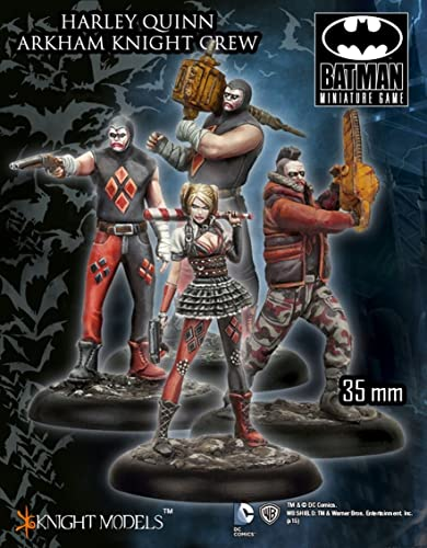 HARLEY QUINN ARKHAM KNIGHT CREW (Knight Models) Batman Miniature Game