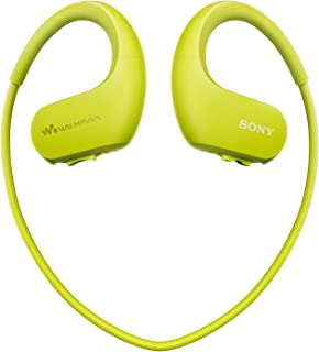 Sony NW-WS413 Waterproof All-in-One MP3 Player, 4 GB - Lime Green