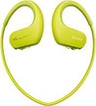 Sony NWWS413 Walkman - Reproductor MP3 deportivo (4 GB, resistente al agua salada y altas temperaturas), color verde