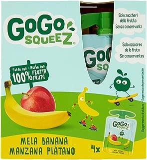Materne Apple Banana 4 x 90 gms