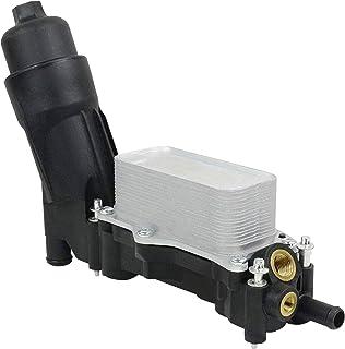 BOXI Oil Filter Cooling Housing Assembly without sensors Fit For 2014 2015 2016 2017 Chrysl-er Dodge Jeep / 2014 2015 2016 2017 2018 Ram 3.6L V6 Pentastar 68105583AF, 68105583AC