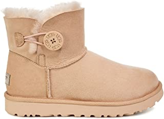 UGG Botas australianas Mini Bailey Button (36 - Nude)