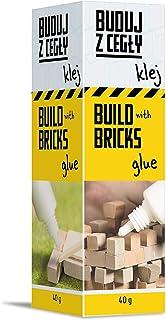 Trefl Brick Trick Buduj z Cegły – Klej, 40g, Rozpuszczalny w Wodzie, Łącz Cegiełki, Klej Deseczki, Ozdabiaj Budowlę, Dla F...