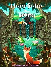 Herrliche Tiere - Malbuch Für Kinder (German Edition)