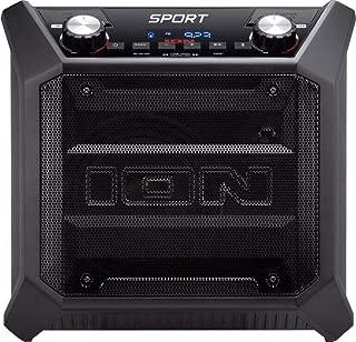 ION Audio - Tailgater Sport Portable Bluetooth Speaker - Black (Renewed)