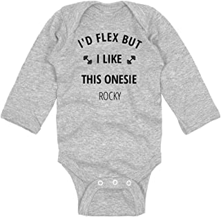Midbeauty Muscle Baby Newborn Cotton Jumpsuit Romper Bodysuit Onesies Infant Boy Girl Clothes