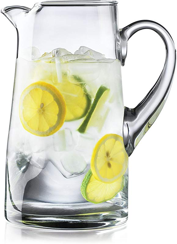 Crisa Impressions By Libbey 80 Ounce Clear Glass Pitcher 2 80 Ounces