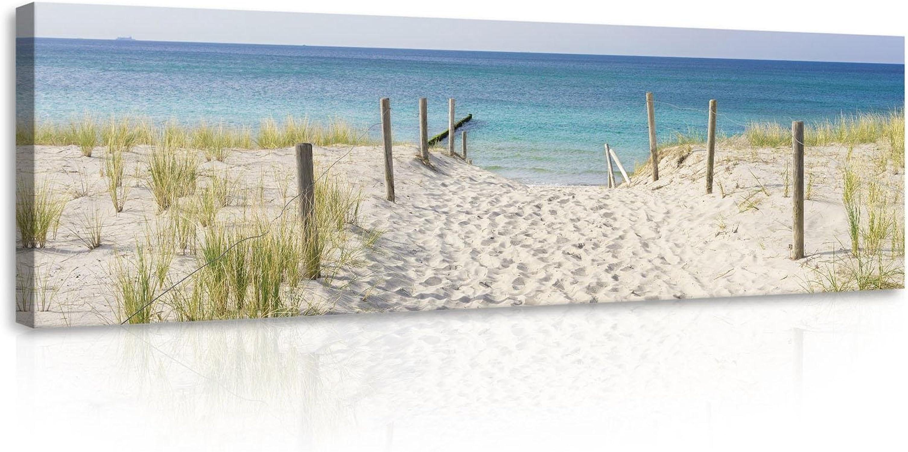 promociones de equipo Welt-der-trumewandbild canvasbild lienzo impresión de de de Lienzo   playa y el salón   lienzo   Imprimir 10387_ pp-ms   naturaleza paisaje playa mar OcÃano mar arena, O3 (45cm. x 145cm.)  lo último