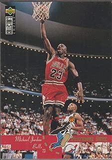 1995 Collectors Choice Michael Jordan Bulls Basketball Card #195