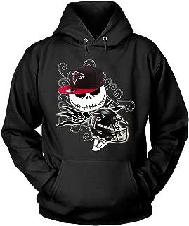 Atlanta Falcons Football Halloween T Shirt, The Nightmare Before Christmas T Shirt - Hoodie
