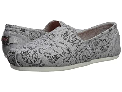 BOBS from SKECHERS Bobs Plush Meow Mo (Gray) Women