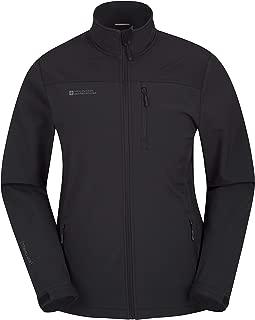 Grasmere Mens Softshell Jacket -Breathable Raincoat