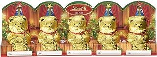 Christmas Lindt Mini Teddy Milk, 5 x 10 gm