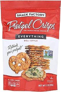 Pretzel Crisp, Pretzel Crisp; Everything, Pack of 12, Size - 7.2 OZ, Quantity - 1 Case