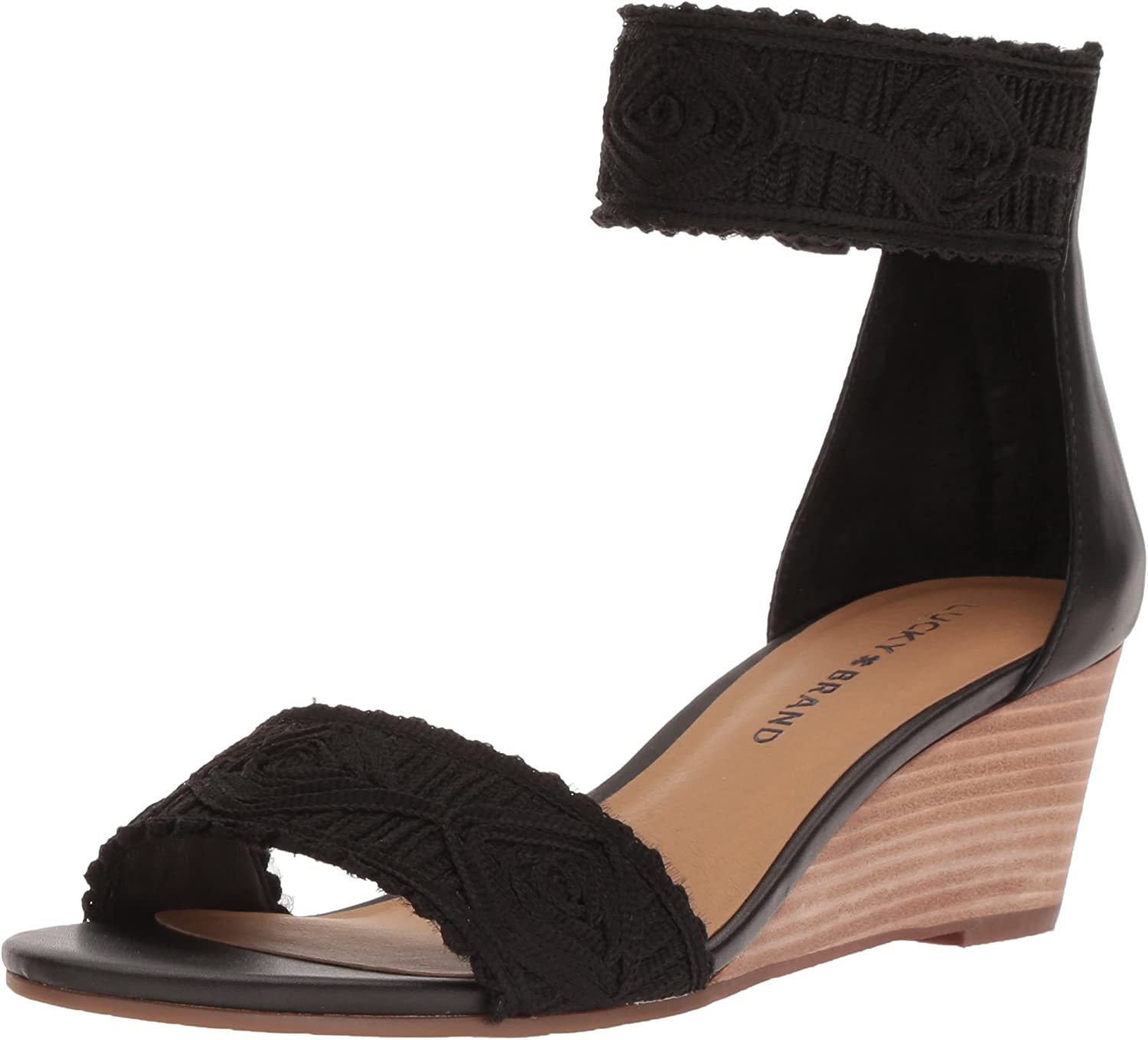 Lucky Brand Womens Joshelle Wedge Sandal