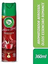 Desodorizador Bom Ar Aerossol Aroma Sense Romance 360 Ml,