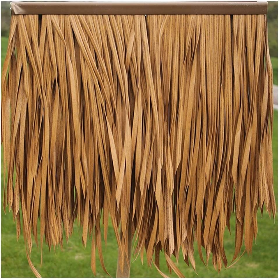 Plastic Simulated thatch Palm Limited price Leaf Denver Mall Tile Roofing Decorati Antique