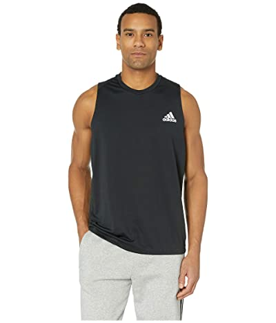 adidas Freelift Sleeveless T-Shirt (Black) Men