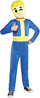 Vault Boy Halloween Costume, Fallout Shelter, Includes Mask