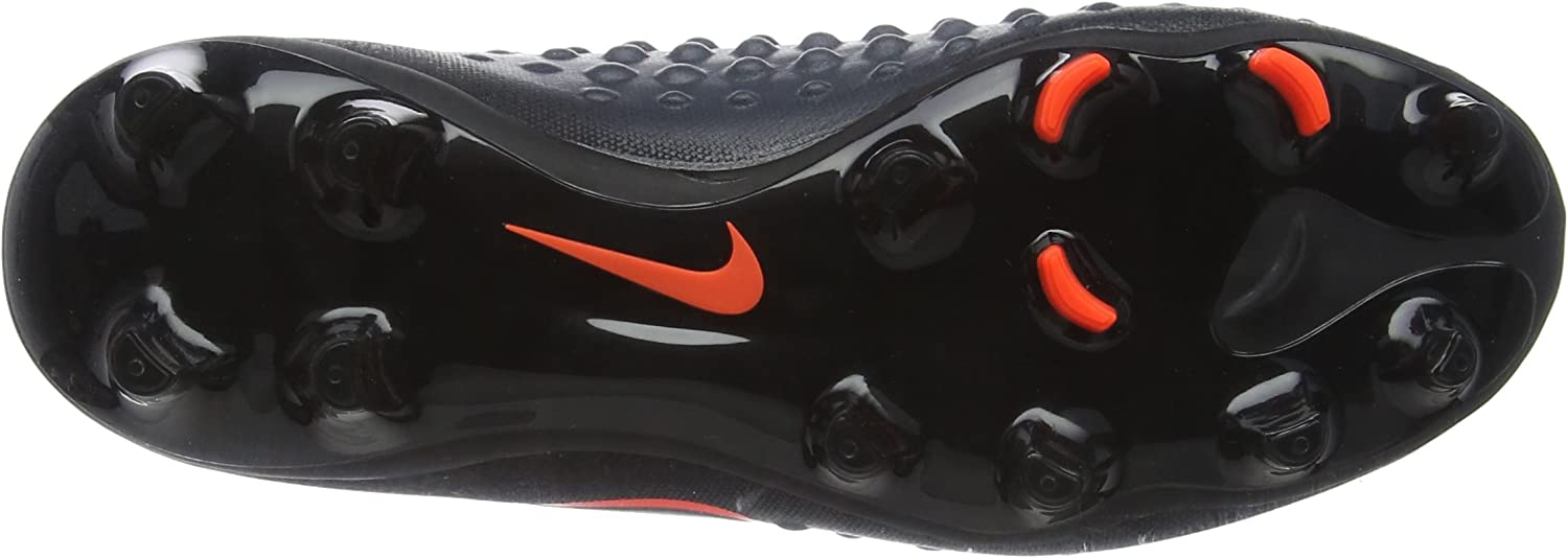 Nike Kids Magista Obra II FG Black//Total Crimson Shoes