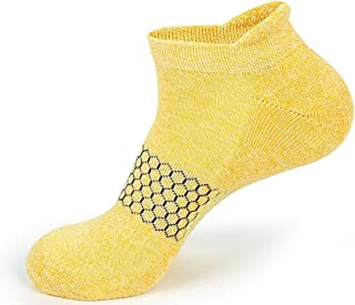 Yooth Boost Mens Moisture Wicking Compression Ankle Socks