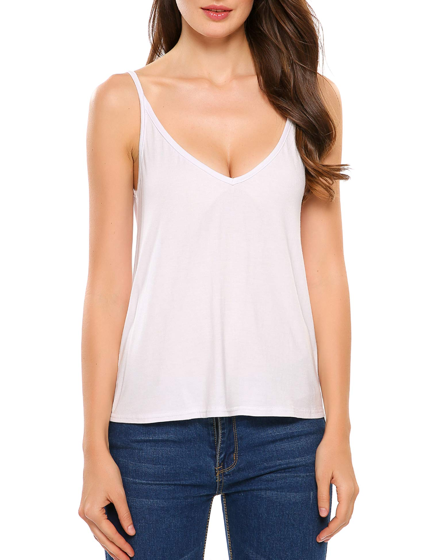 SoTeer Womens Casual Cotton Camisoles