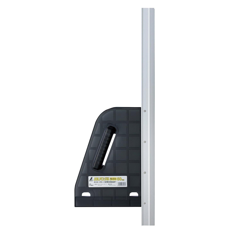 特権的モート奨励しますシンワ測定 丸ノコガイド定規 エルアングルライト 600mm 77967