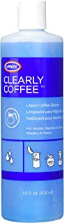 Urnex Clearly Coffee Pot Cleaner 14 Ounce (Made in the USA) French Press Liquid Cleaner for Glass Bowls Airpots Satellite Brewers and Thermal Servers Removes Coffee Oils