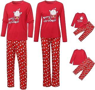 Pantalon Service /à Domicile Pyjama Outfits Enfants Ensemble de V/êtements /à Manches Longues,HYMax 2PCs B/éb/é Gar/çon Fille Impression Du P/ère No/ëL Tops