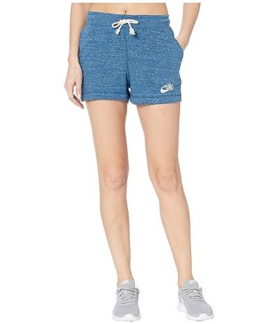 Nike NSW Gym Vintage Shorts (Valerian Blue/Sail) Women