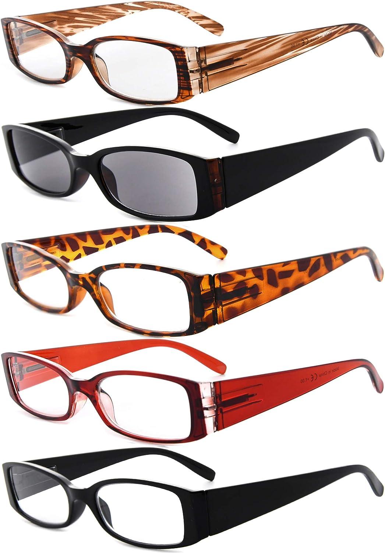 Eyekepper 20 Pairs Reading Glasses for Women Reading Inlcude Reader  Sunglasses +20.20 Reading Eyeglasses