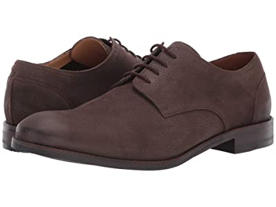 Clarks Flow Plain (Dark Brown Nubuck) Men