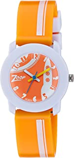 Zoop Analog Orange Dial Children's Watch -NDC3025PP29C