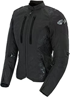 Joe Rocket Atomic 4.0 Women`s Textile Riding Jacket (Black, Large)