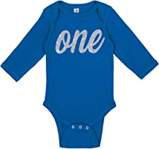 Aiden's Corner Baby Boy & Baby Girl First Birthday | Handmade Bodysuits & Shirts | 1st Birthday Gold and Silver Flake Outfits