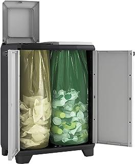 KETER 9735000 Meuble de recyclage Gris