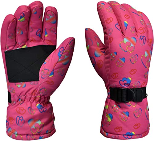 OPTIMISTIC Winter Ski Gloves for Women Outdoor Cycling Skiing Snowboarding Sports Gloves for Women,Keep Hands Warm in Cold Weathe, Gift for Valentines Day and Holiday