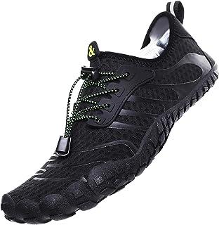 Zapatos de Agua para Hombre Zapatos de Playa Zapatillas Minimalistas de Barefoot Secado Rápido Calcetines de Piel Descalza Escarpines de Verano Deportes Acuáticos Swim Beach Surf Yoga