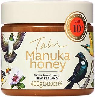 Manuka Honey UMF 10+ eco-friendly, bee friendly, raw, unfiltered, 100% pure New Zealand manuka honey by Tahi (400 gram PET)