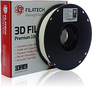 Filatech ABS Filament, White, 1.75mm, 0.5KG