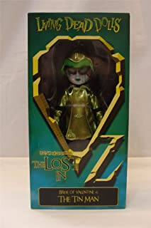 Living Dead Dolls - The Lost In OZ Exclusive Emerald City Variant - Bride of Valentine as The Tin Man Variant
