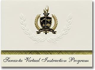 Signature Announcements Sarasota Virtual Instruction Program (Sarasota, FL) Graduation Announcements, Presidential Basic P...