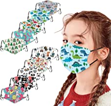 ATRISE 5PC/10PC Kids Children Outdoor Cotton Mouth Cover Dustproof Face Cover Reusable