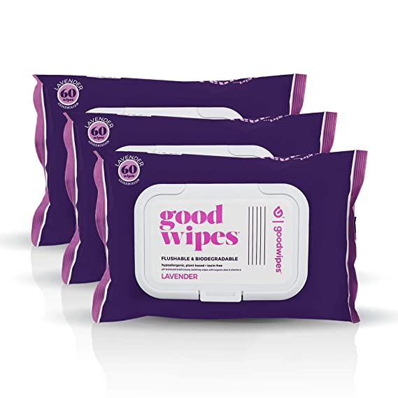 Goodwipes Lavender Scent