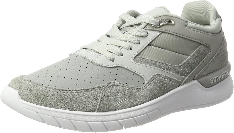 Supra Mens Winslow Grey Lightgrey White shoes Size