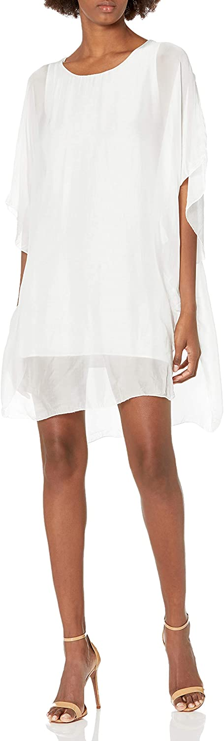 M Direct store Made in Italy Long Beach Mall Poncho-Style Women's Tunic Dress
