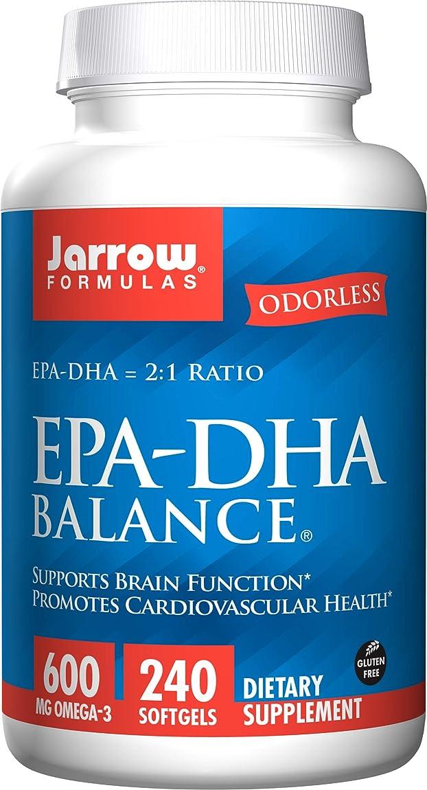 殺す依存するモンク海外直送品Jarrow Formulas Epa-dha Balance, 240 Sftgels